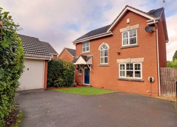 Thumbnail 3 bed detached house for sale in Pettiford Close, Fradley, Lichfield