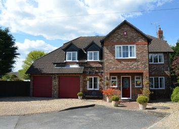 Thumbnail 5 bed detached house for sale in Hamesmoor Way, Mytchett, Surrey