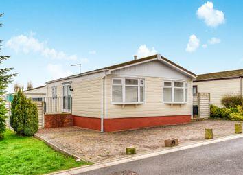 Thumbnail 2 bed mobile/park home for sale in Redlands Park, Lighthorne, Warwick