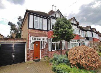 Thumbnail 3 bedroom end terrace house for sale in Chestnut Avenue, Buckhurst Hill, Essex