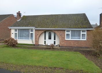 Thumbnail 2 bedroom bungalow to rent in The Fleet, Stoney Stanton, Leicester