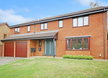 Thumbnail 5 bed detached house for sale in Ambridge Close, East Hunsbury, Northampton
