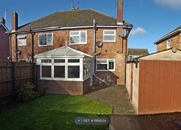 Thumbnail 3 bedroom semi-detached house to rent in Edinburgh Avenue, Peterborough