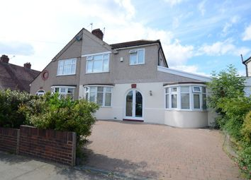 Thumbnail 5 bedroom semi-detached house for sale in Willersley Avenue, Sidcup