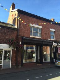 Thumbnail Commercial property for sale in 43 Wheelock Street, Middlewich