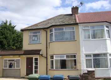 Thumbnail 7 bed semi-detached house to rent in Hill Crescent, Harrow