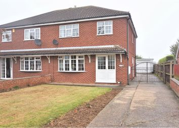 Thumbnail 3 bed semi-detached house for sale in Redwood Drive, Cleethorpes
