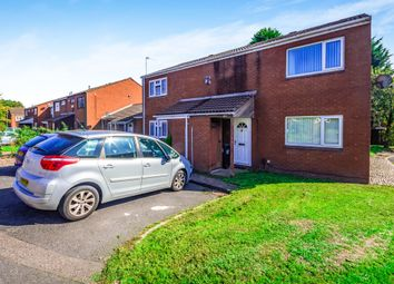 Thumbnail 2 bedroom end terrace house for sale in Locket Close, Walsall