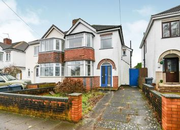 Thumbnail 3 bed semi-detached house for sale in Chelston Road, Northfield, Birmingham, West Midlands