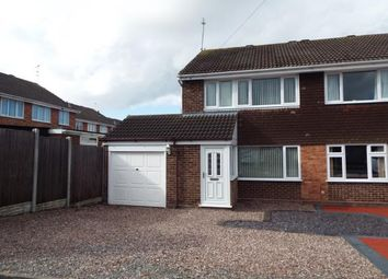 Thumbnail 3 bed semi-detached house for sale in Kentmere Close, Penkridge, Stafford, Staffordshire