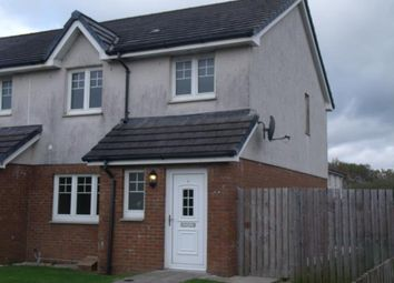 Thumbnail 3 bed terraced house to rent in Station Court, Drongan, Ayr