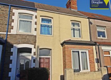 Thumbnail 4 bedroom terraced house for sale in Norman Street, Cathays, Cardiff