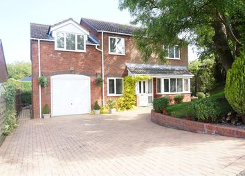 Thumbnail 4 bedroom detached house for sale in Station Road, Telford