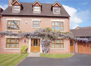Thumbnail 6 bed detached house for sale in Upton Rocks Avenue, Widnes