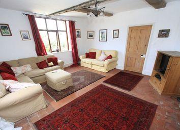 Thumbnail 6 bed farmhouse for sale in Ollerton, Market Drayton, Shropshire