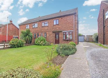 Thumbnail 3 bed semi-detached house for sale in Mere Dyke Road, Luddington, Scunthorpe