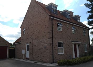 Thumbnail 5 bed detached house to rent in Evans Drift, Ipswich
