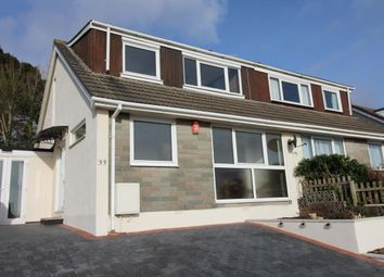 Thumbnail 3 bed semi-detached bungalow for sale in St. Edward Gardens, Plymouth