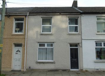 Thumbnail 3 bed terraced house for sale in Bryntaf, Aberfan, Merthyr Tydfil