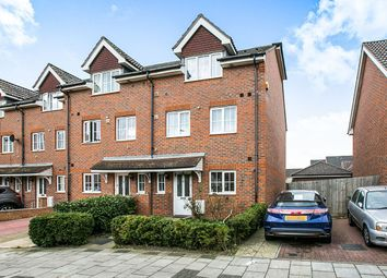 Thumbnail 4 bed terraced house for sale in Waterside Close, Central Thamesmead, London