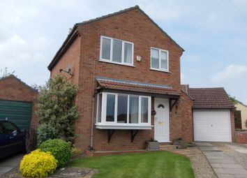 Thumbnail 3 bed detached house for sale in Queen Annes Court, Bedale