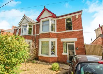 Thumbnail 3 bedroom semi-detached house for sale in Church Road, Rumney, Cardiff