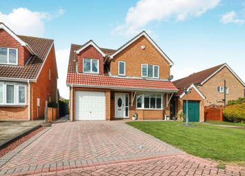Thumbnail 4 bed detached house for sale in Marian Way, Waltham, Grimsby
