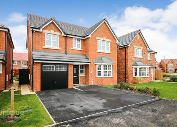 Thumbnail 4 bed detached house for sale in Willow Close, Great Eccleston