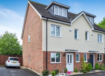 Thumbnail 4 bed semi-detached house for sale in Blackdown Close, Crawley