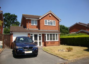 Thumbnail 4 bed detached house to rent in Charlesworth Avenue, Shirley, Solihull