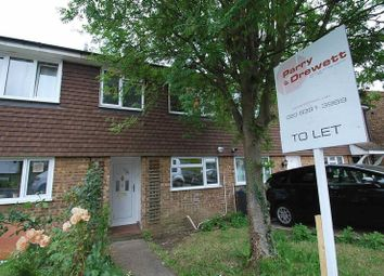 Thumbnail 3 bed terraced house to rent in Wolsey Way, Chessington