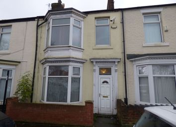 Thumbnail 3 bed terraced house for sale in Tunstall Terrace West, Sunderland