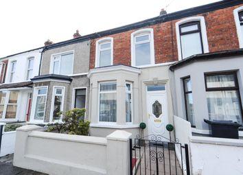 Thumbnail 2 bed terraced house for sale in Jocelyn Avenue, Woodstock, Belfast