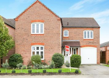 Thumbnail 4 bed detached house for sale in Hardwick Field Lane, Chase Meadows, Warwick
