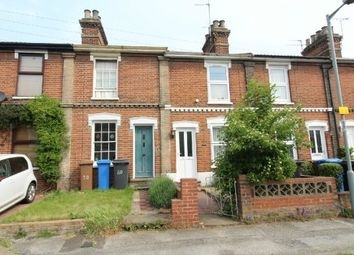 Thumbnail 2 bed terraced house for sale in Lancaster Road, Ipswich