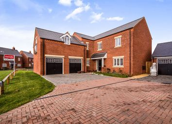 Thumbnail 5 bed detached house for sale in Arch Grove, Berryfields, Aylesbury