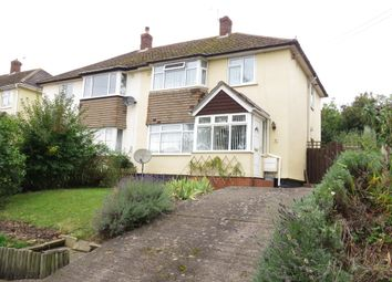 Thumbnail 3 bed semi-detached house for sale in Normandy Avenue, Watchet