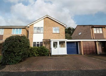 Thumbnail 4 bedroom link-detached house for sale in Boscombe Close, Egham, Surrey