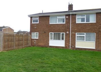 Thumbnail 1 bed flat for sale in Surrey Close, Ashington