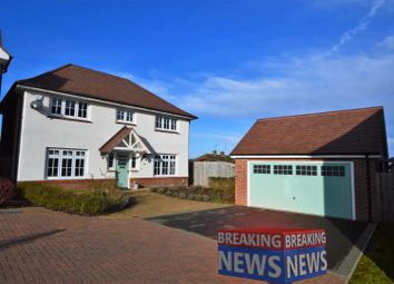 Thumbnail 4 bed detached house for sale in Windmill Crescent, East Leake, Loughborough
