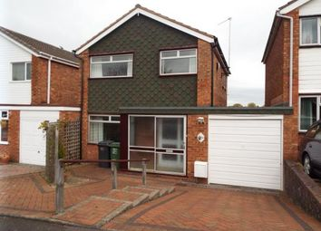 Thumbnail 3 bed link-detached house for sale in Soudan, Redditch, Worcestershire