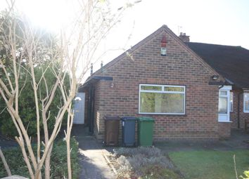 Thumbnail 3 bedroom semi-detached bungalow to rent in Dovedale Avenue, Shirley, Solihull