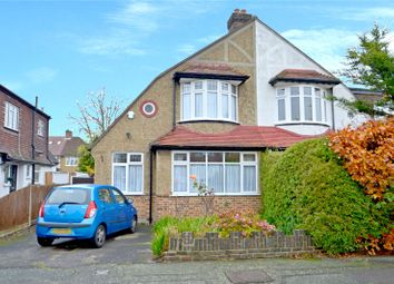 Thumbnail 3 bed semi-detached house for sale in Stoneleigh Park Avenue, Croydon