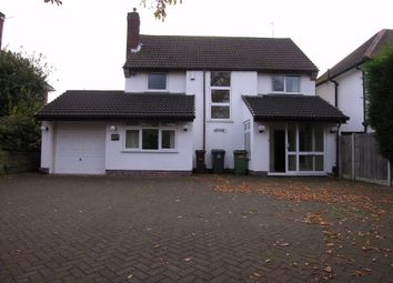Thumbnail 3 bedroom detached house to rent in Wrottesley Road West, Wolverhampton