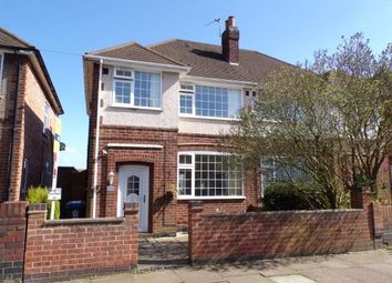 Thumbnail 3 bed semi-detached house for sale in Wiltshire Road, Stadium Estate, Leicester, Leicestershire