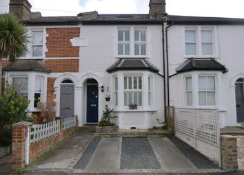 Thumbnail 3 bed terraced house for sale in Park Road, East Molesey