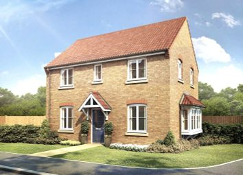 Thumbnail 3 bed detached house for sale in Parker Way, Nettleham Chase