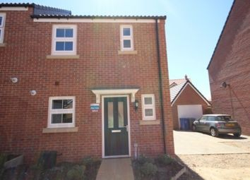 Thumbnail 2 bed semi-detached house to rent in Foster Way, Kettering