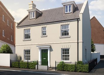 "Thumbnail 5 bed detached house for sale in ""The Lutyens"" at Haye Road, Sherford, Plymouth"