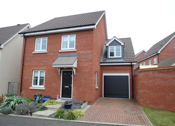 Thumbnail 4 bed detached house for sale in Ellisons Crescent, Ipswich
